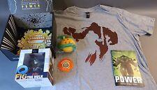 Loot Crate Power May 2016 box Hulk, Dragonball Z, World of Warcraft XL shirt