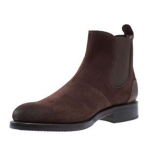 405b0e2ebf8 Details about Mens Wolverine Montague Chelsea Brown Suede Boots 1000 Mile  Size 10 -13 W40204