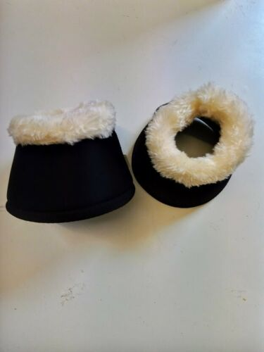 FAUX FUR LINED NEOPRENE OVER REACH BOOTS COB /& FULL SIZES