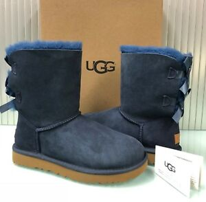 dce962b57cb Details about New UGG Australia Women's Bailey Bow II Boots Shoes 1016225  Navy 6