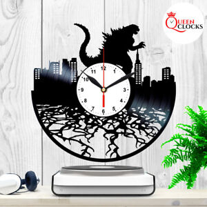 Godzilla-Resurgence-Vinyl-LP-Record-Wall-Clock-Collection-2014-1954-Kids-Decor