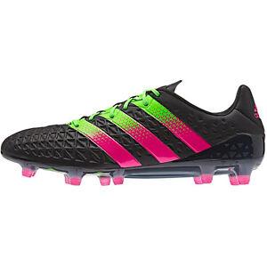 adidas Men s ACE 16.1 FG AG Core Black Solar Green ShoPin AF5082  a8396e75c200a
