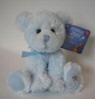 Rare 2006 Shining Stars Teddy Bear - Blue By Russ Berrie plush stuffed Toys