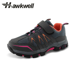 416c9a68b30 Kids Hiking Trekking Shoes Outdoor Boys Girls Slip Resistant ...
