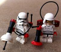 2 Original Lego Star Wars Stormtroopers - Ultrasound Unit - Parts From 75165 &