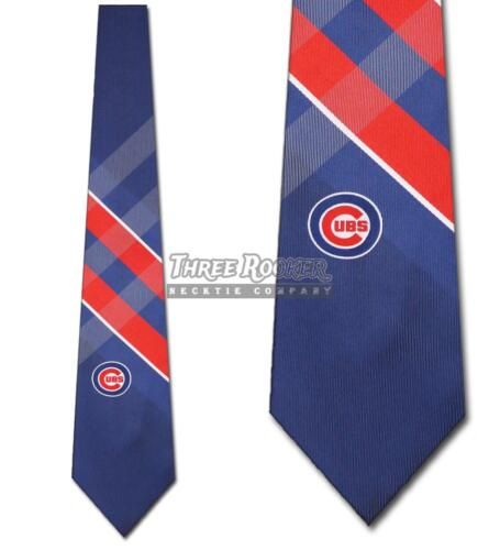 Chicago Cubs Ties FREE SHIPPING Mens Cubs Necktie Licensed Neck Tie NWT