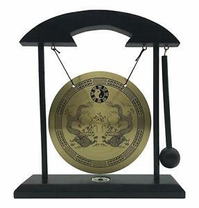 Zen-Table-Gong-TaiChi-Dragon-Feng-Shui-Meditation-Desk-Bell-Home-Decor-Gift-USA