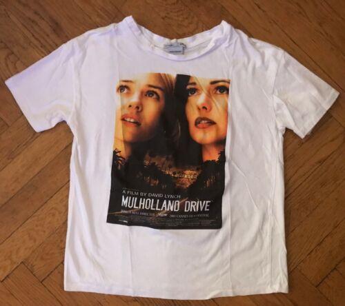 David Lynch Mulholland Drive Movie Film White T Sh