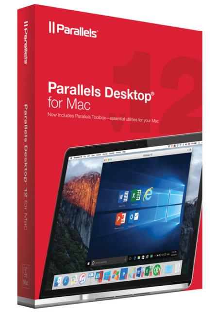 Parallels Desktop 12 for Mac Key Card - Perpetual License, New Retail Box