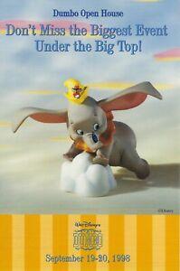Walt-Disney-Classics-Collection-WDCC-Dumbo-Open-House-Postcard-Promotional-1998