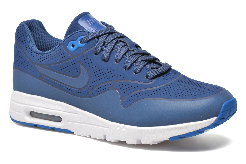 Nuevo Zapatillas en Caja Nike Aire 1 Máximo Ultra Moire Zapatillas Nuevo Corriendo Azul 704995-403 b40d76