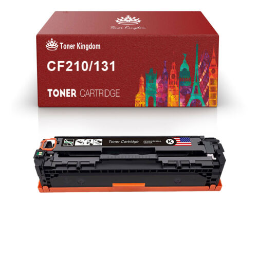 4PK CF210X 131X Black Toner Cartridges For HP Color LaserJet Pro M251 nw  M276n