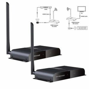 HDMI WIRELESS EXTENDER/TRANSMITTER AND RECEIVER@ANGEL ELECTRONICS, HDMI SPLITTER, HDMI SWITCH, HDMI TO VGA,HDMI OVER CAT Mississauga / Peel Region Toronto (GTA) Preview