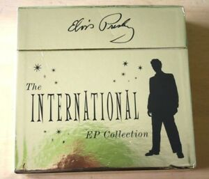 Mint-Unplayed-Elvis-Presley-The-International-EP-Collection-11-EP-Box-Set