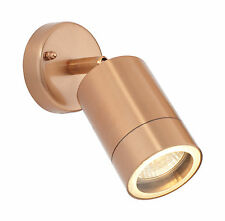 Saxby ST5010C ODYSSEY Copper outdoor spot Adjustable IP44 Wall Light
