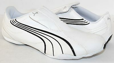 Puma Tergament 185533-01 White Leather Mens Athletic Shoes NWD - NO BOX