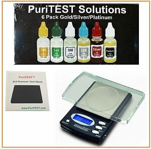 Electronic Gold Test Acid Kit 10k 14k 18k Silver Tester Detector Jewelry Testing Jewelry Tools Testing & Identification Tools