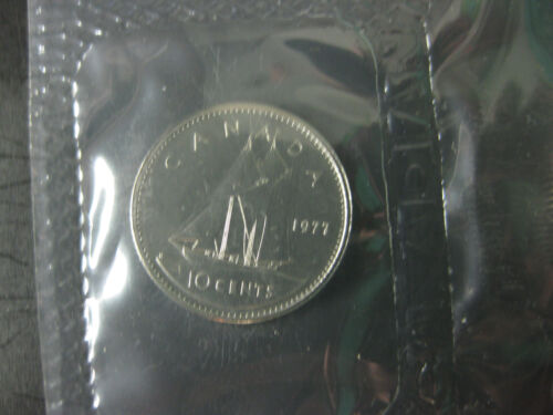 $0.10 1977 Canadian Prooflike Dime