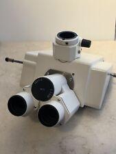 Zeiss Axioplan 2 Trinocular Dual Camera Port Head
