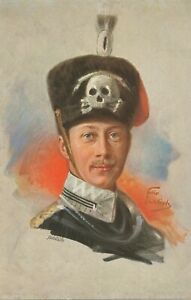 PREUssEN-KONIGSHAUSER-1915-farbige-Tuck-s-Oilette-AK-FRIEDRICH-WILHELM-KRONPRINZ