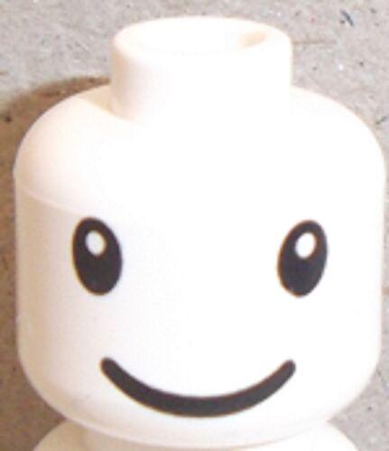 LEGO Tête Avec NESQUIK BUNNY yeux et sourire Motif x 10 pour figurine