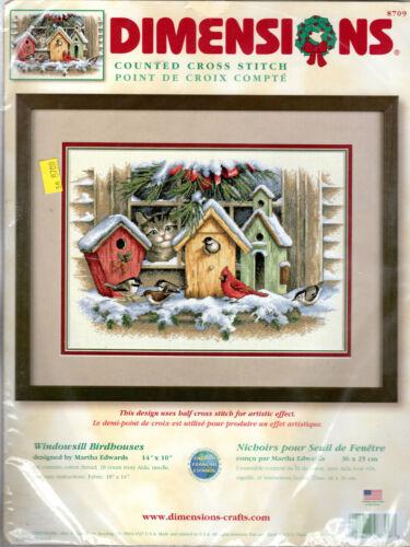 COUNTED CROSS STITCH Needlework Kits by Dimensions • Bucilla • Janlynn CHOICE