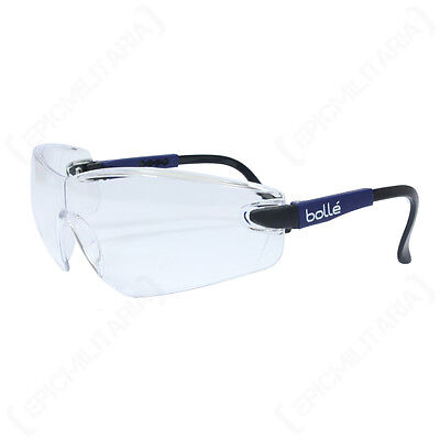 Bolle VIPER Glasses - CLEAR LENS Safety Glasses Eye Protection Army Glasses