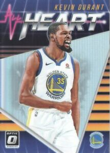 2018-19-Donruss-Optic-All-Heart-Holo-5-Kevin-Durant-Warriors