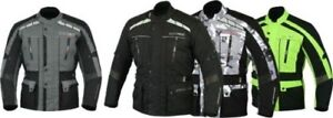 Neuf-MBSmoto-James-Motocycle-Moto-Impermeable-Blinde-Homme-Textile-Jacket