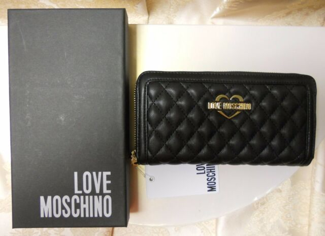 best loved bc4e9 2488a Moschino Love Moschino Portafoglio da Donna - Nero