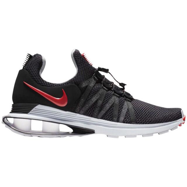 baecbc35115 Mens Nike SHOX GRAVITY Running Shoes -Black Varsity Red -AR1999 016 -Sz