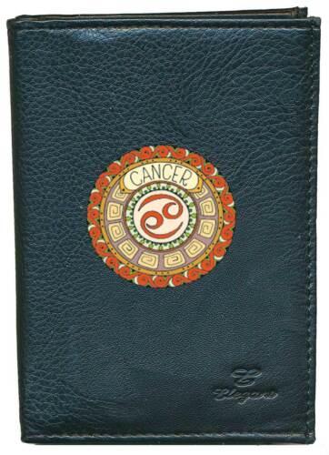 Porte Chequier ou compagnon ou porte monnaie ou porte carte grise signe Cancer