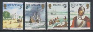 Isle-of-Man-1986-Captain-Myles-Standish-set-MNH-SG-321-4