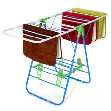 Laundry Clothes Storage Drying Rack Portable Folding Heavy Duty Dryer  Hanger US