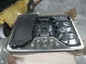 Ge Cafe Series Cgp350setss 30 Inch 5 Burner Gas Cooktop With
