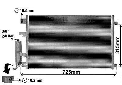 Kondensator Klimaanlage Klimakondensator  für NISSAN Qashqai J10 JJ10