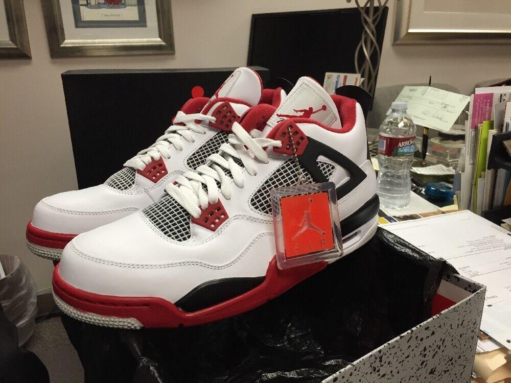 Nike Air Jordan IV 4 Size 12 DS Mars Red Black Tgold