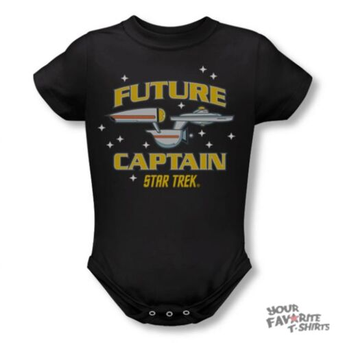 Star Trek Future Captain Baby Snapsuit