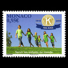 Monaco 2015 - 100th Anniversary of Kiwanis International - MNH