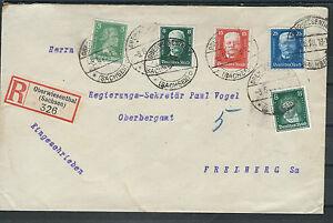 Deutsches Reich Porto Plus équitable (1pf par-dessus) R-Lettre iigw AB Oberwiesenthal-afficher le titre d`origine Xupsq0hU-07142922-167837007