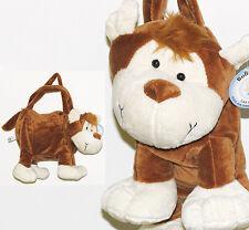 MONKEY plush soft animal purse/handbag    New