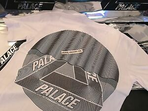 7f39a175ca0e PALACE SKATEBOARDS FW16 TRI CURTAIN X-LARGE WHITE T-SHIRT TEE XL TRI ...