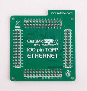 MikroElektronika-EasyMx-PRO-v7-for-STM32-Empty-MCUcard-ETH-100pin-TQFP