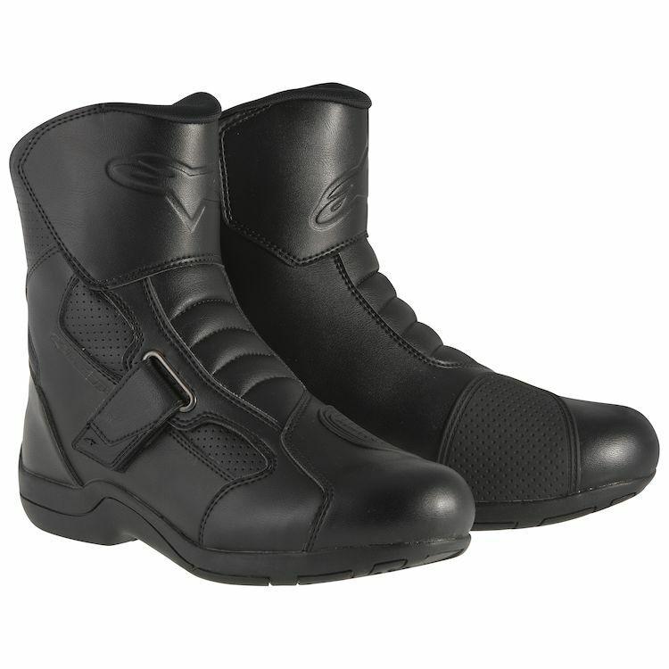 Alpinestars Black Ridge Waterproof Motorcycle Boots