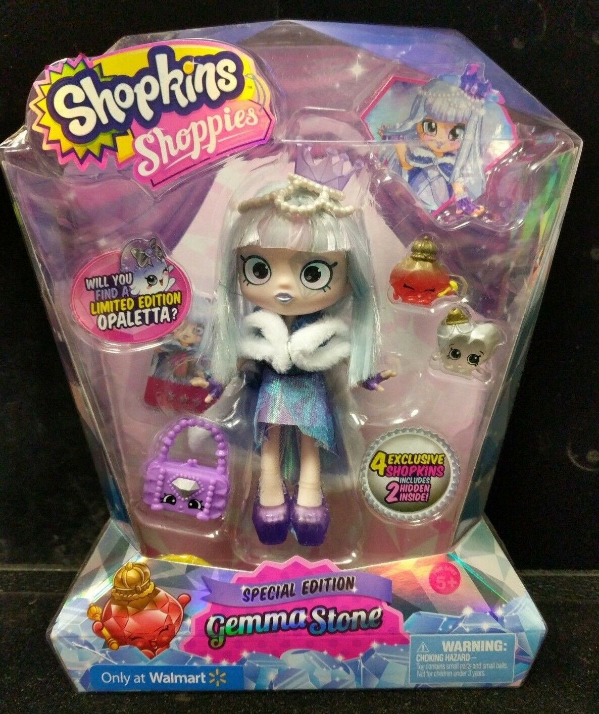 New Shopkins Shoppies Gemma Stone 2016 Special Special Special Limited  Edition NIB C5-1 972a6a