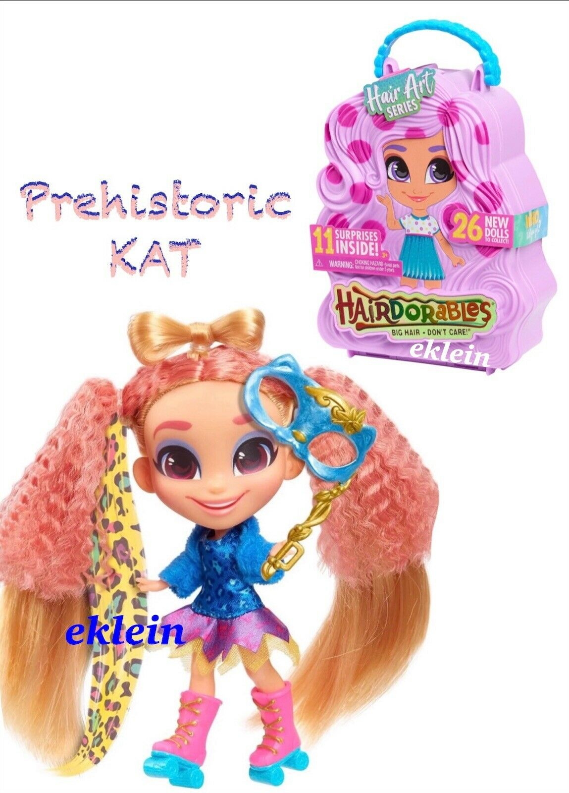 New Hairdorables Hair Art Series 5 •CREATIVE KALI• Mostly Sealed