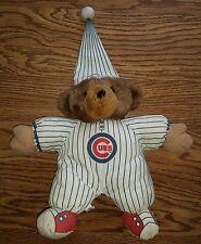 Chicago Cubs MLB Stuffed Teddy Bear Plush Toy in Pajamas PJs