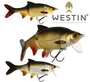 Westin-Lure-Fishing-RICKY-THE-ROACH-HYBRID-15cm-36g-Swimbait-Bait-Predator-Pike