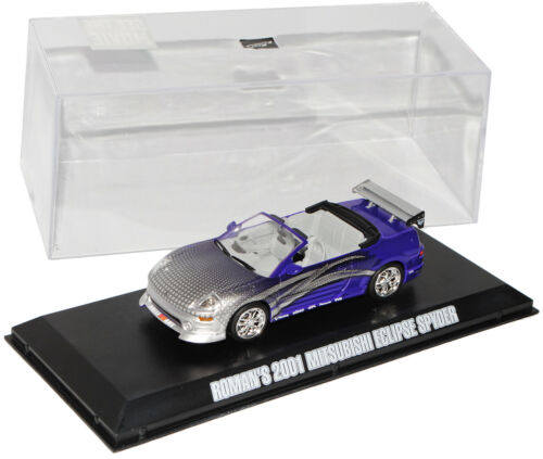 Mitsubishi Eclipse Spyder Purple Roman ´S the Fast and Furious 1//43 Greenlight