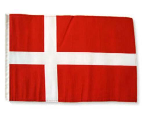 "12x18 12/""x18/"" Denmark Sleeve Flag Boat Car Garden"